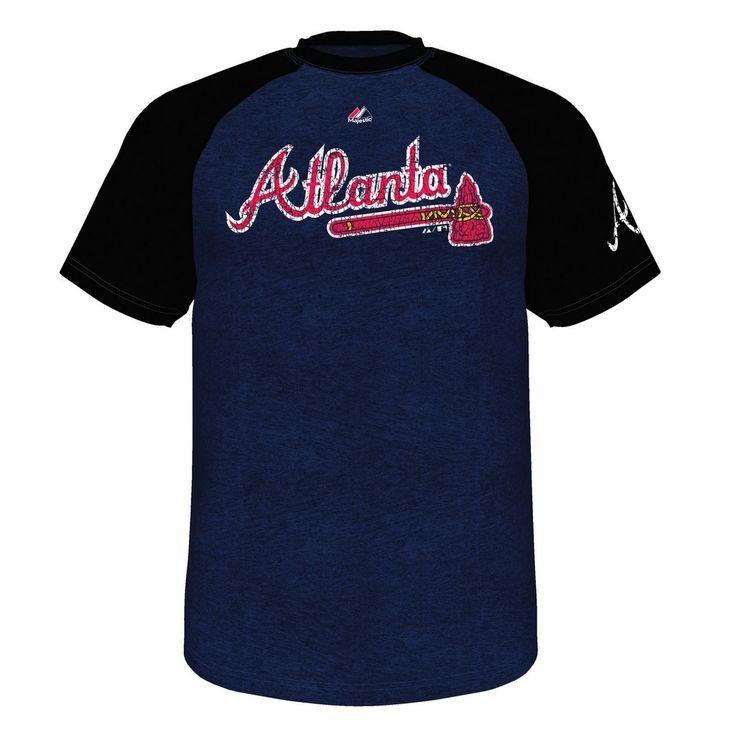 Atlanta Braves Men's Club Favorite Raglan Tee Shirt