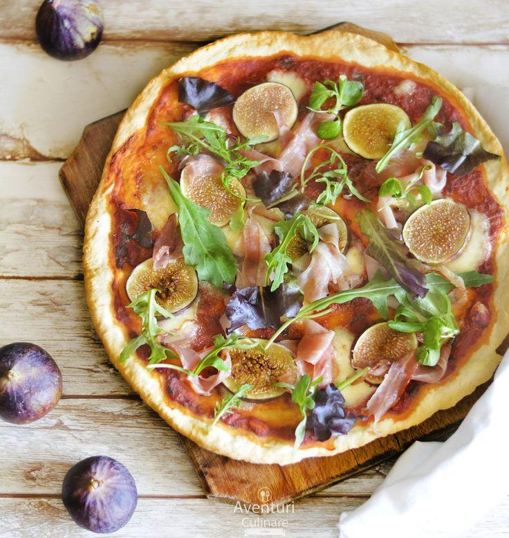 Smochizza - #pizza de 'sezon' cu #smochine si #prosciutto