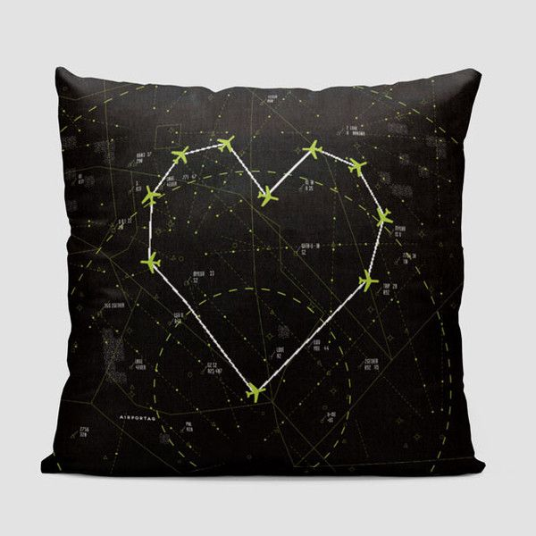 Love - Air Traffic - Throw Pillow                                                                                                                                                                                 More