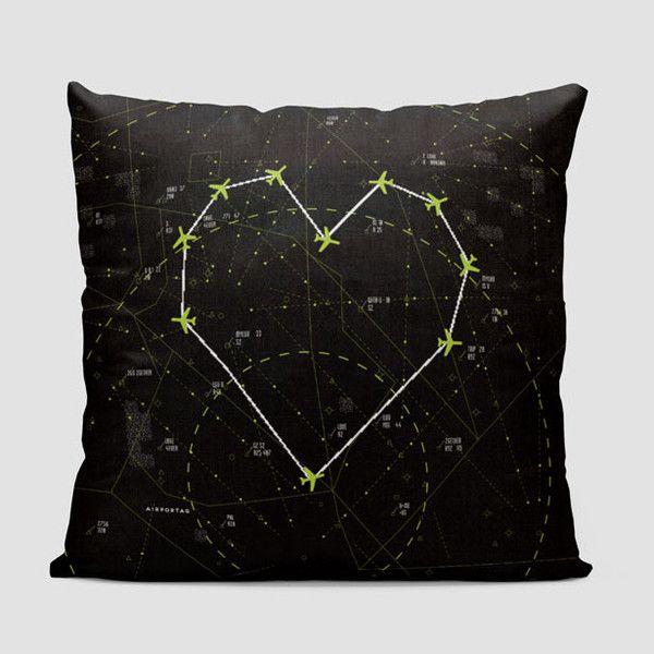 Love - Air Traffic - Throw Pillow                                                                                                                                                                                 More