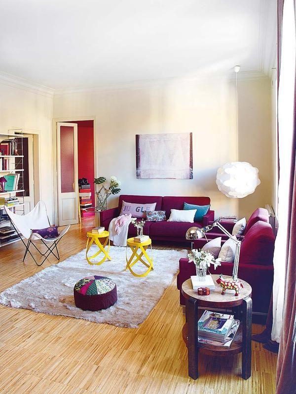 21 best Purple Living Room images on Pinterest | Purple living ...