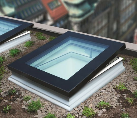 The New Range Of FAKRO Flat Roof Windows Combine Energy Efficiency And  Added Security. So