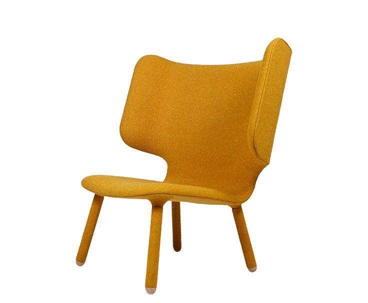Tembo Lounge Chair, Yellow