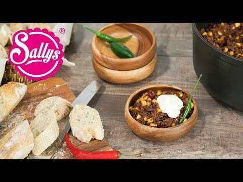 Sallys Rezepte - Chili Con Carne / Sallys Original / Crowdfeeder & Party-Food