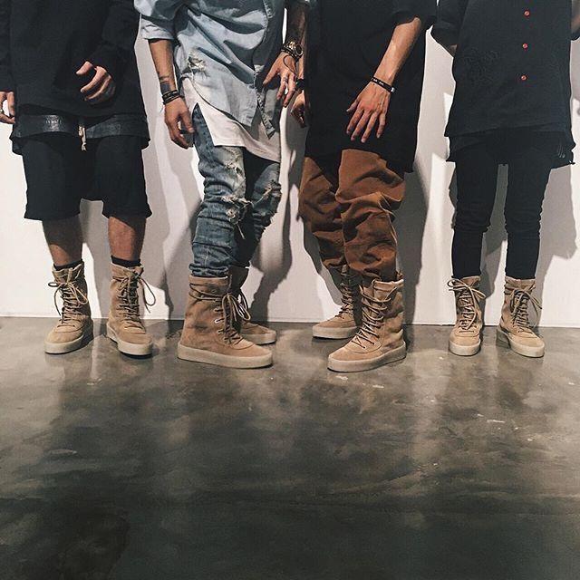 Yeezy Season 2 'Crepe' Boots - Eye Blog About.....Nothin'