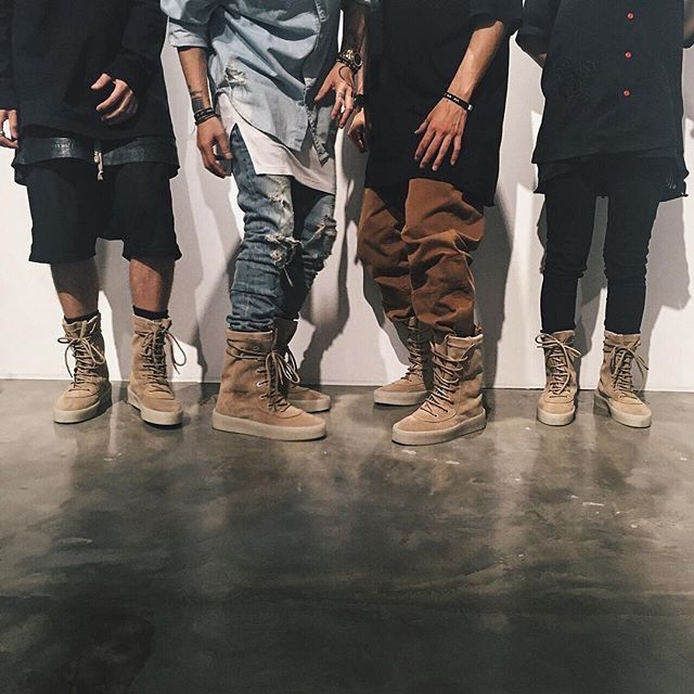 Yeezy Season 2 'Crepe' Boots - Eye Blog About.....Nothin'