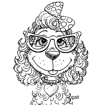 The 25 best images about Dog Stamps on Pinterest - best of coloring pages for adults dogs