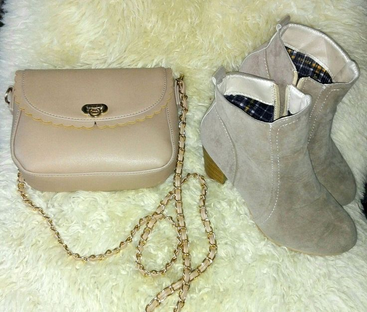 #bag #shoes #beige