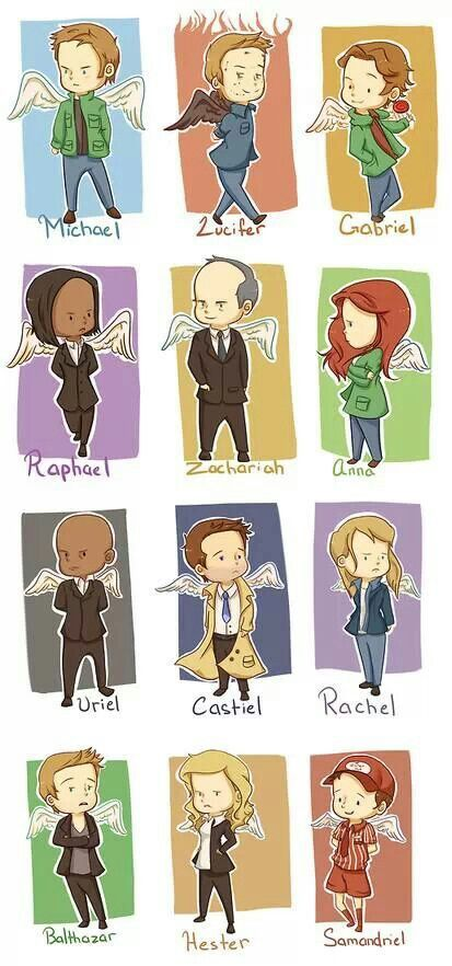 Supernatural angels