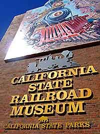 California State Railroad Museum  I went to this every year for a field trip when I was a child.