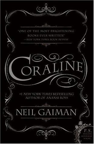 Coraline by Neil Gaiman. I just finished it. Different to the movie. This surprised me, it wasn't as good as I thought it was. Now, I said it wasn't as good as I thought it would be, that doesn't mean it wasn't good. It's not as detailed or as scary as I hoped it would be. However, bare in mind, it is a children's novel. I enjoyed it though, nevertheless.
