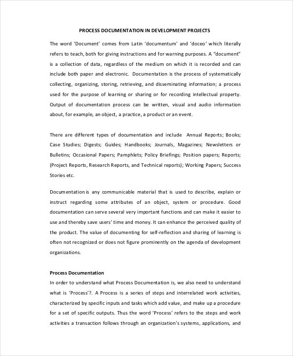 Project Initiation Document Template Document Templates