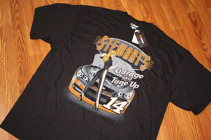 Tony Stewart Garage T Shirt 14 NASCAR Car Racing Daytona Race New XXXL 3XL | eBay fight