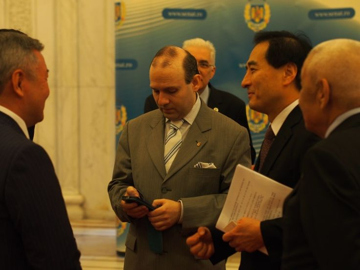 Ambassadors of Korea, Uzbekistan and Turkmenistan and European Council President