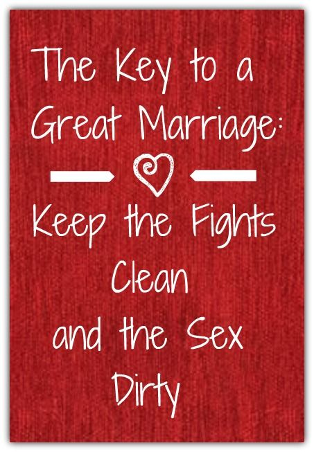 Someday- when I get married ... words to live by!
