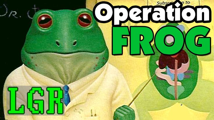 LGR - Operation Frog - C64 Game Review