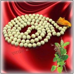 VedicVaani.com | Shop tulsi mala online from the best online store from India to worldwide for chanting or japa mala.  Tulsi is considered to be an adaptogen, balancing different processes in the body, and helpful for adapting to stress.