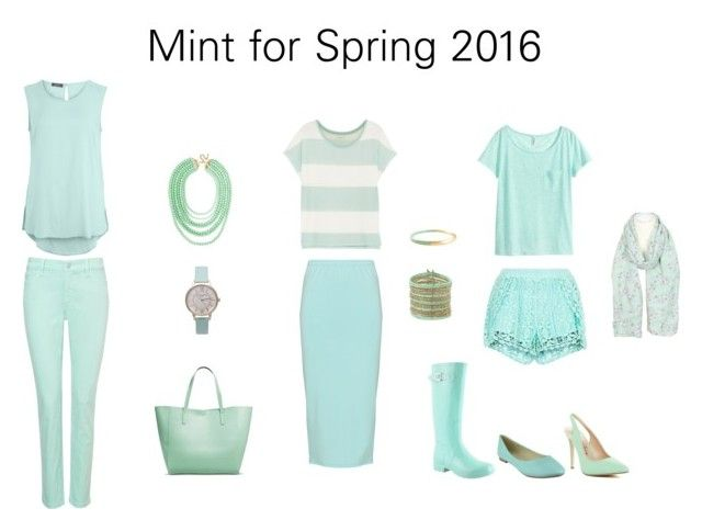 Mint for Spring 2016 by jennylutes on Polyvore