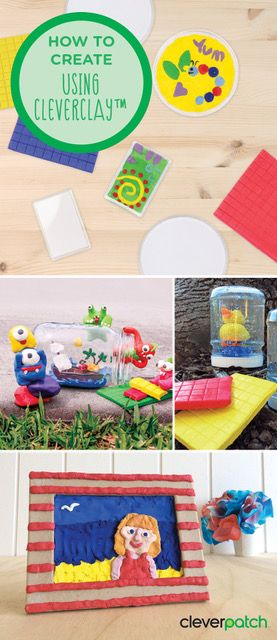 Some great ideas for using CleverClay!