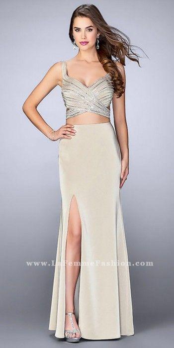 Back cut out prom dresses