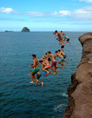 Summer Fun, Crayfish Bay, Coromandel. New Zealand
