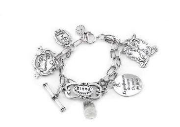 REMINISCENCE PARIS Perfume & Love Charm Bracelet Purchase: $90.00 CAD