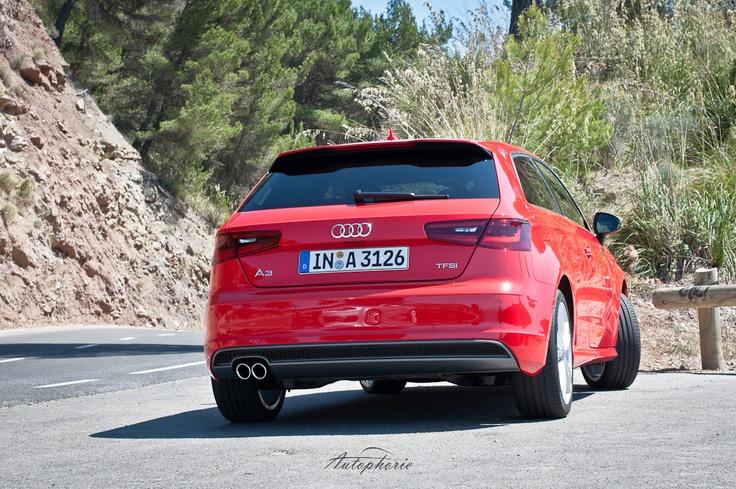 New Audi A3 TFSI S Line