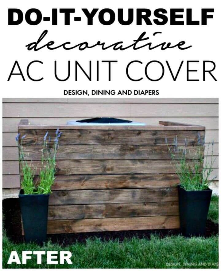 Pin By Anna Quinones On House Air Conditioner Cover Outdoor