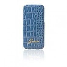 Forro iPhone 5 - Guess - Ultraslim - Croco Azul  Bs.F. 218,58