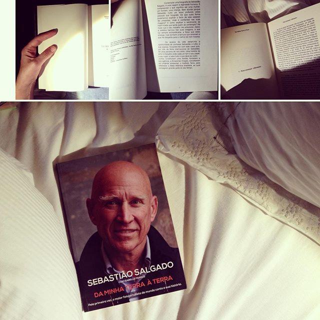 #Sebastião Salgado l Se não se gosta de esperar, não se consegue ser fotógrafo.In my #bedroom, #books