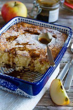 stuttgartcooking: Milchreis-Auflauf mit Apfel und Apfel-Sirup
