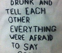 Inspiring image aesthetic, afraid, alternative, boy, couple, cross stitch, crush, cute, drunk, embroidered, embroidery, girl, grunge, high school, hipster, indie, love, night, pale, party, quote, secrets, shirt, sober, soft grunge, summer, teen, truth #3025925 by marine21 - Resolution 640x960px - Find the image to your taste