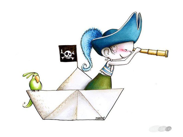 Pirate 2 - Sticker