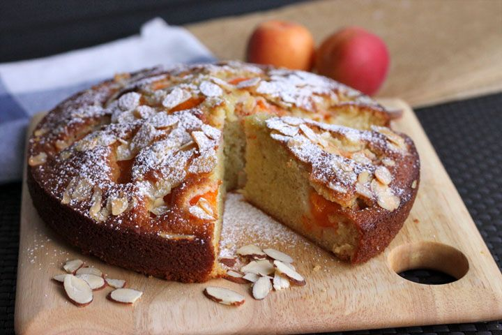 Apricot & Almond Olive Oil Cake