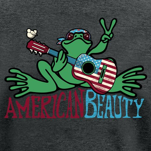 American beauty peace frogs t shirt