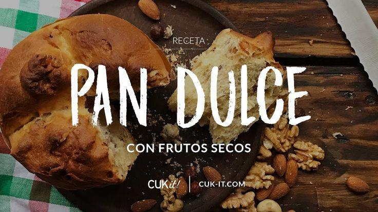 Pan Dulce con Frutos Secos - Recetas Navideñas - CUKit!   #cukitrecetas #pandulce #panettone #frutossecos #nueces #almendras #receta #hechoencasa #homemade #recipeshare #food #foodporn #homecooking #recipe #recetapandulce