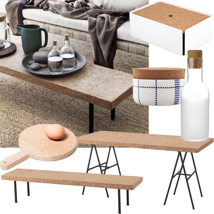 Kork   cork   decor   tables   home   living room  