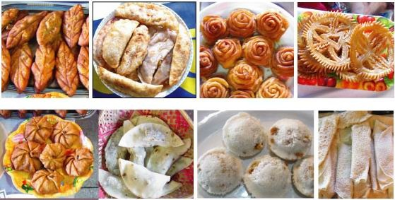 Pitha is famous during the chilly months. So they have to be there!