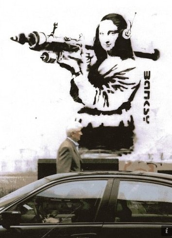 Banksy In Real Life  Nick Stern made a photo series that recreates Banksy's art in real life.