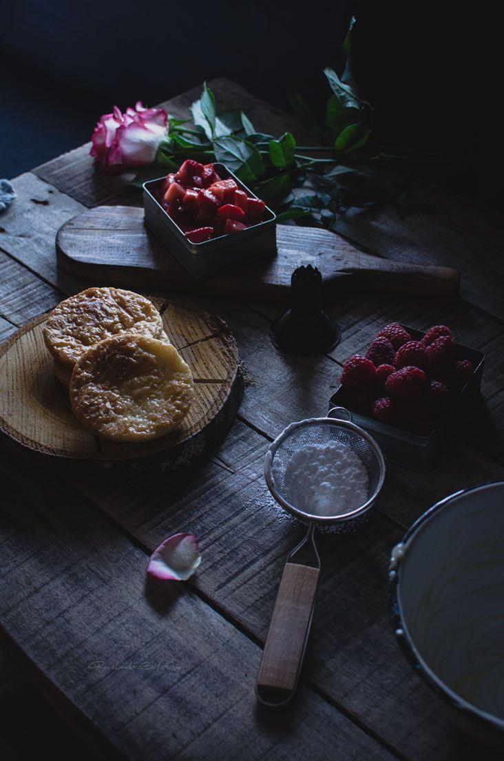 Revelando Sabores: Milhojas de crema y fresas a la pimienta