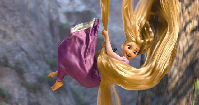 Day 10: Best Hair Rapunzel, hands down