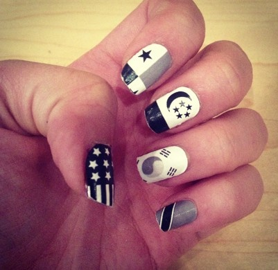 Around the world in 10 nails! NCLA Nail Wraps