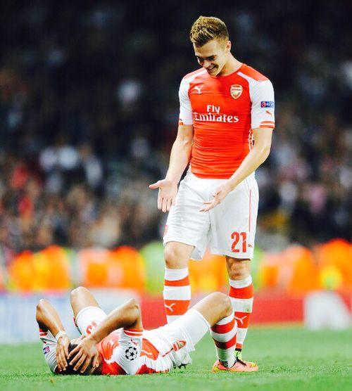 Calum & Alexis #Champions League