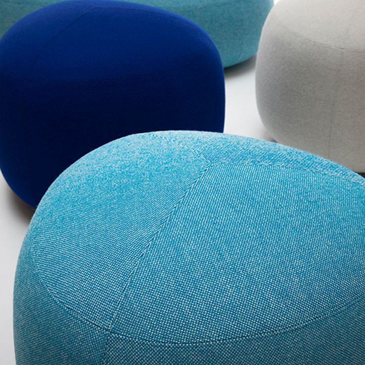Kipu pouf in different sizes for a small break
