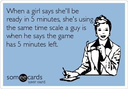 Funny quote about men/women and oh so true
