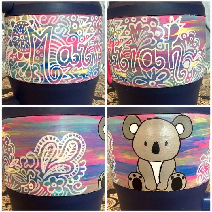 painted sorority bubba keg
