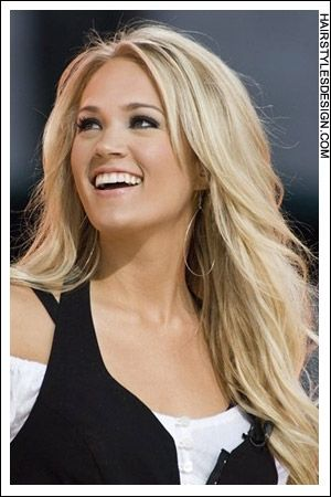 Carrie Underwood and her long blonde locks. Want the look? We've got you covered. #StudioRKSalon
