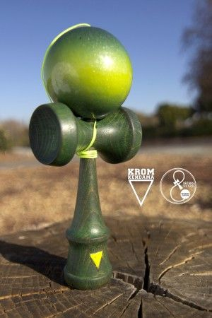 Green Poison Krom Kendama