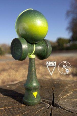 Green Poison Krom Kendama