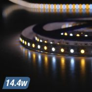We provide you with the option of customizing our dimmable LED strip driver and other accessories. Usually the driver will be installed after the strip is installed but for customers looking for something advanced and modern, we will offer Lutron wall dimmers that will be great for your purpose.